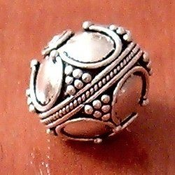 Turkish Sterling Silver Bead Ball 16 mm 5 gram