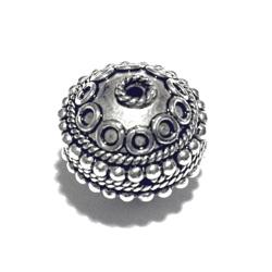 Turkish Sterling Silver Bead 14 mm 3.6 gram