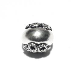 Turkish Sterling Silver Bead 9 mm 1 gram
