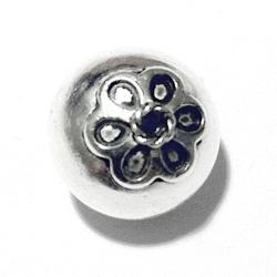 Turkish Sterling Silver Bead 15 mm 2.7 gram