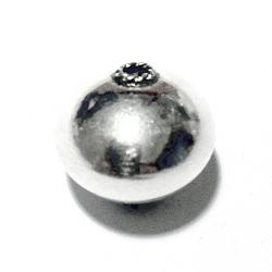Turkish Sterling Silver Bead 15 mm 2.5 gram