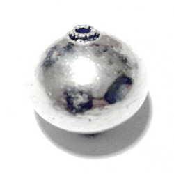 Turkish Sterling Silver Bead 18 mm 4 gram