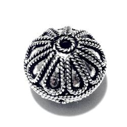 Turkish Sterling Silver Bead 13 mm 4.8 gram