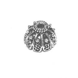 Sterling Silver Bead Cap Cone 9 mm 1.6 gram