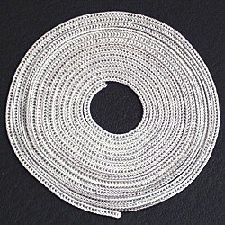 Turkish regular foxtail chain for necklace 75 cm