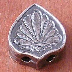 Turkish Sterling Silver Bead Imame 2 cm 4.65 gram