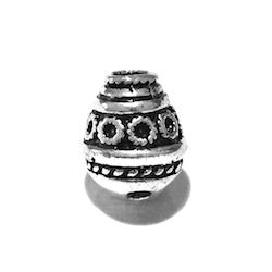 Sterling Silver Short Imame for Tasbih 13 mm 3 gram