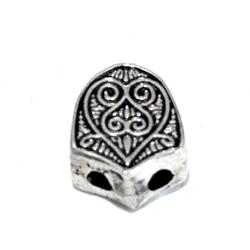 Turkish Sterling Silver Bead Imame for Tasbih 1 cm 2 gram
