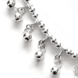 Turkish Full Sterling Silver Necklace 19.4 gram 50 cm