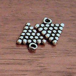 Lot of 4 Turkish Sterling Silver Charm grape 1 cm 1.2 gram