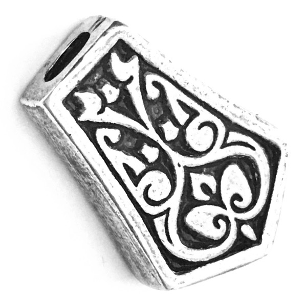 Turkish Sterling Silver Bead Imame 2 cm 5 gram