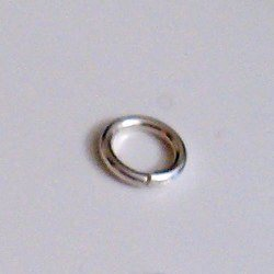 Lot of 3 Turkish Sterling Silver Open Jump Ring 9 mm 1.2 gram