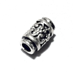 Sterling Silver Rondelle Bead Spacer 7x3 mm 1 gram