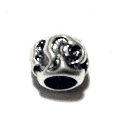 Sterling Silver Rondelle Bead Spacer 5x7 mm 1.4 gram