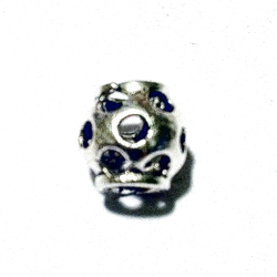 Sterling Silver Rondelle Bead Spacer 9x9 mm 1.3 gram