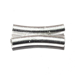 Sterling Silver Double Rondelle Bead Spacer 15 mm 1 gram