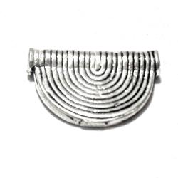 Sterling Silver Rondelle Bead Spacer 15 mm 1.4 gram