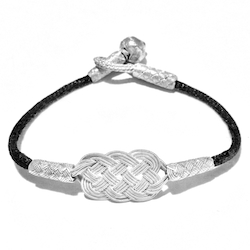 Turkish Pure Silver Scourge Mesh Filigree Bracelet