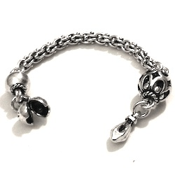 Sterling silver top attachment for tasbih 8-10 mm 95 mm