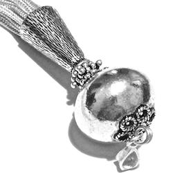 Turkish Sterling Silver Tassel 5 inch 26 gram