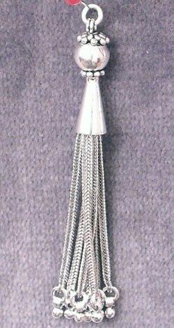 Turkish Sterling Silver Bead Tassel 8.6 gram 8 cm