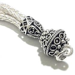 Turkish Sterling Silver Tassel 7 cm 9.2 gram