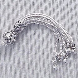 Turkish Sterling Silver Tassel 6 cm 6.3 gram