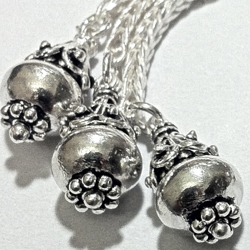 Turkish Sterling Silver Tassel 8.5 cm 12 gram