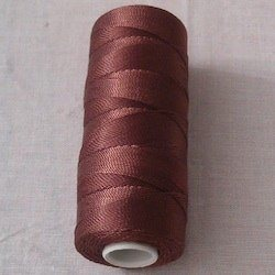 Turkish 100% Nylon Tasbih Thread Roll 12 ply 100 gram Brown
