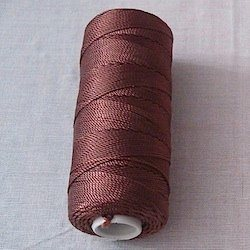 Turkish 100% Nylon Tasbih Thread Roll 18 ply 100 gram Brown