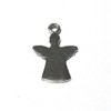 Sterling Silver Blank Label Tag for Marking Angel Charm 23 mm 1.3 gram ID # 6444