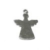 Sterling Silver Blank Label Tag for Marking Angel Charm 30 mm 2.5 gram ID # 6445