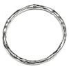 Full Sterling Silver Bangle Bracelet 18.5 gram hammered ID # 6225