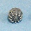 Sterling Silver Bead 14 mm 4 gram ID # 2713