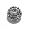 Sterling Silver Bead 13 mm 3 gram ID # 6491
