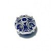 Sterling Silver Bead 10 mm 1.9 gram ID # 6485