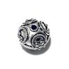 Sterling Silver Bead 13 mm 3 gram ID # 6486