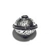 Sterling Silver Bead 13 mm 2 gram ID # 6496