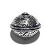 Sterling Silver Bead 17 mm 3 gram ID # 6497