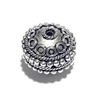Sterling Silver Bead 14 mm 3.6 gram ID # 6506