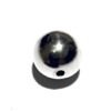 Sterling Silver Bead 12 mm 1.7 gram ID # 6517