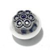 Sterling Silver Bead 15 mm 2.7 gram ID # 6482