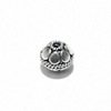 Sterling Silver Bead 8 mm 1.2 gram ID # 6499
