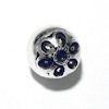 Sterling Silver Bead 13 mm 1.8 gram ID # 6477