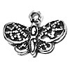 Sterling Silver Charm Pendant Butterfly 18 mm 1.4 gram ID # 6709