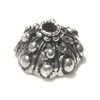 Sterling Silver Bead Cap Cone 10 mm 1.2 gram ID # 6119