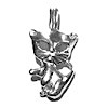Sterling Silver Charm Pendant Cat 2 cm 1.3 gram ID # 6705