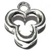 Sterling Silver Charm Pendant Crescents 14 mm 1 gram ID # 6352