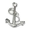 Lot of 2 Sterling Silver Charm Anchor 17 mm 1.2 gram ID # 6335