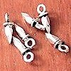 Lot of 7 Sterling Silver Charm 8 mm 1 gram ID # 5774